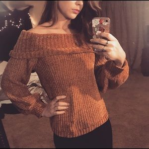 Golden mustard super soft sweater